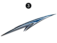 Cyclone - 2012 Cyclone FW-Fifth Wheel Toyhauler-Blue - Spear
