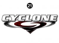 Cyclone - 2012 Cyclone FW-Fifth Wheel Toyhauler-Red - Rear Cyclone Legend