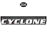 Cyclone - 2012 Cyclone FW-Fifth Wheel Toyhauler-Red - Front Cyclone Legend