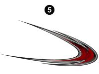 Cyclone - 2012 Cyclone FW-Fifth Wheel Toyhauler-Red - Large Hook