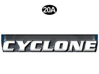 Cyclone - 2012 Cyclone FW-Fifth Wheel Toyhauler-Blue - Front Cyclone Legend