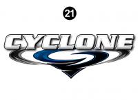 Cyclone - 2012 Cyclone FW-Fifth Wheel Toyhauler-Blue - Rear Cyclone Legend