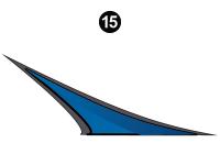 Cyclone - 2012 Cyclone FW-Fifth Wheel Toyhauler-Blue - Accent Wedge
