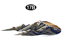 Montana - 2010 Montana FW-Fifth Wheel - Side Scene Mountn(B&D) Curbside Graphics Kit