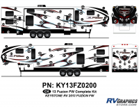 Fuzion - 2013 Fuzion FW-Fifth Wheel (Early)-Cap Graphics Update - 2013 Fuzion FW Complete Kit
