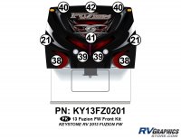 Fuzion - 2013 Fuzion FW-Fifth Wheel (Early)-Cap Graphics Update - 2013 Fuzion FW Front Kit