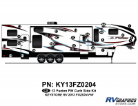 Fuzion - 2013 Fuzion FW-Fifth Wheel (Early)-Cap Graphics Update - 2013 Fuzion FW Curbside Kit