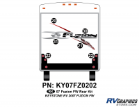 Fuzion - 2007 to 2009 Fuzion FW-Fifth Wheel - 2007 Fuzion FW Rear Graphics Kit