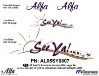 Seeya Motorhome - 2005 Seeya MH-Motorhome Premium Version - 2005 Seeya MH Premium Logo Only Kit-No Domes
