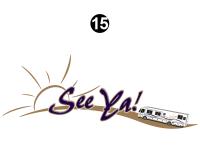 Seeya Motorhome - 2005 Seeya MH-Motorhome Premium Version - Rear See Ya Logo