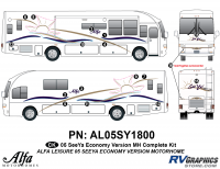 Seeya Motorhome - 2005 Seeya MH-Motorhome Economy Version - 2005 Seeya MH Economy Complete Kit