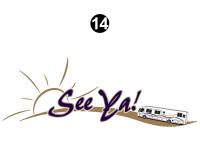 Front See Ya Logo - Image 2
