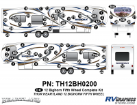 Bighorn - 2012 to 2013 Bighorn FW-Fifth Wheel - 2012 Bighorn Fifth Wheel Complete Graphics Set
