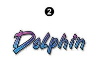 Dolphin - 1999 Dolphin MH-Motorhome - Front Dolphin logo