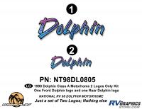 Dolphin - 1998 Dolphin MH-Motorhome - 2 Piece 1998 Dolphin MH Logo  Kit