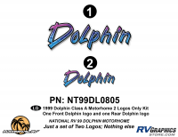 Dolphin - 1999 Dolphin MH-Motorhome - 2 Piece 1999 Dolphin MH Logo  Kit