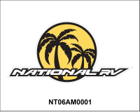 National RV - National RV Miscellaneous Graphics and Decals - National RV Rear Brand logo