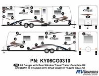 Cougar - 2006-2008 Cougar TT-Travel Trailer OEM Colors - 2006 Cougar Travel Trailer TT Complete Kit