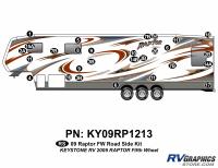 2009 Raptor FW Formed Cap Roadside Kit