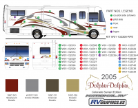 31 Piece 2005 National RV Dolphin MH-Colorado Sunset - Image 2