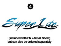 SuperLite - 2002 SuperLite TT-Travel Trailer - Side SuperLite logo