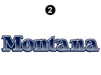 Montana - 2006-2007 Montana Fifth Wheel - Side Montana Logo