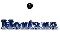 Montana - 2006-2007 Montana Fifth Wheel - Front Montana Logo