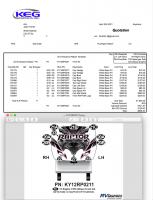 Any - 2020-2021 - 11  Piece 2012 Keystone Raptor Front Graphics Kit
