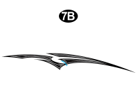 Road Warrior - 2014 Road Warrior FW-Fifth Wheel-White Version - Print Dart Graphic B