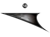 Road Warrior - 2014 Road Warrior FW-Fifth Wheel-White Version - Rear Upper Fin