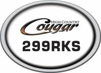 Cougar - 2011 Cougar Extra Decals and Labels - Cougar High Country Model Number 299 RKS