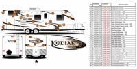 7 Piece 2011 Kodiak TT Partial Kit for Chris W - Image 2