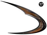 Rear Small Swirl Hook