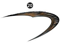 Rear Large Swirl Hook