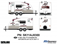 CK 2011 Skyline Aljo Joey TT Complete Graphics Kit