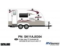 CS 2011 Skyline Aljo Joey TT Curbside Graphics Kit