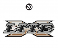 X-Lite Decal Large