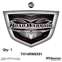 """Road Warrior - 2014 Road Warrior Additional Items - Road Warrior Boo Boo Shield; 6"""" x 9"""" 1 ea"""