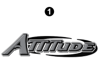 Lg Attitude Reflect Rear Logo
