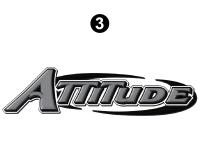 Lg Attitude Gray Front Cap Logo