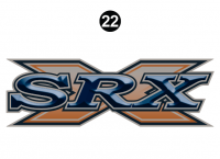 2007 to 2009 SRX Decal