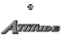 Attitude Tag Line Gray