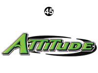 Front Cap Attitude Logo Green