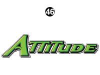 Attitude Tag Line Logo Grn
