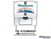 2 Piece 2003 Montana FW Front Graphics Kit
