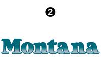 Montana - 2004 Montana FW-Fifth Wheel - Side / Rear Montana Logo