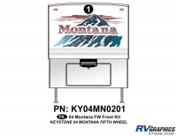 1 Piece 2004 Montana FW Front Graphics Kit