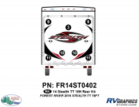 7 Piece 2014 Stealth 18' TT Rear Graphics Kit