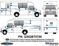 B Touring Cruiser - 2002 Motorhome-Premium Controltac Version - 2002 Premium Controltac Complete Kit