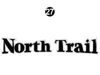 North Trail - 2014 North Trail Elite Edition TT-Travel Trailer - Side / Rear North Trail Logo